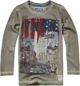 Vingino Langarm-Shirt/Longsleeve JARELL clay grey