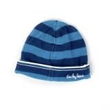 Ducky Beau Mütze Streifen nachtblau