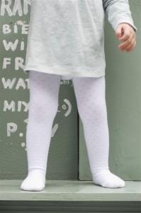Bonnie Doon Baby Strumpfhose AJOUR weiß