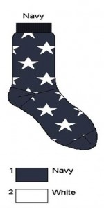 Bonnie Doon Socken A STAR IS BORN navy