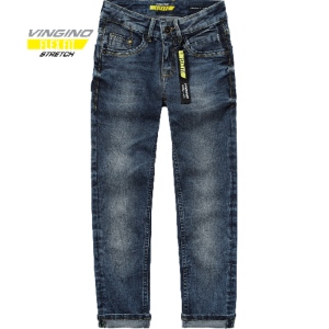 Vingino Jungs Skinny Flex Fit Jeans ALESSANDRO deep dark