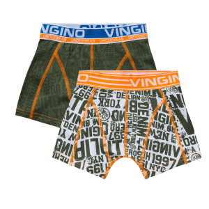 Vingino Boxer/Short 2er-Pack NYC army moss