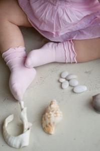 Bonnie Doon Frou Frou Baby Socken rosa
