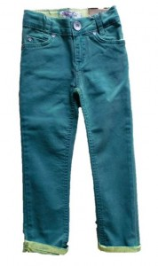 Blue Effect Mädchen coloured Jeans limette/grün NORMAL