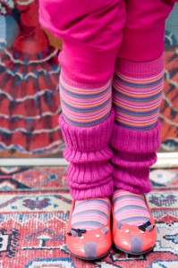 Bonnie Doon Stulpen/Beinwärmer pink
