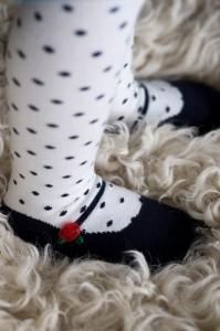 Bonnie Doon Baby Strumpfhose Ballerina navy