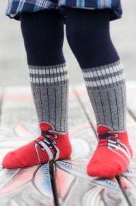 Bonnie Doon Baby Strumpfhose Sneaker navy