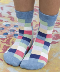 Bonnie Doon Socken PIXELATED dazed blue