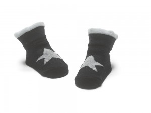 Bonnie Doon New Born/Baby Socken STAR navy