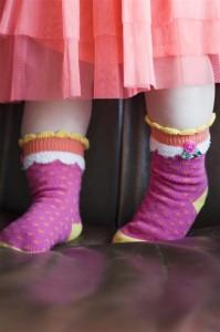 Bonnie Doon Baby Socken CUPCAKE cheerleader