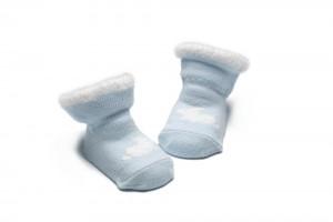 Bonnie Doon New Born/Baby Socken RABBIT hellblau