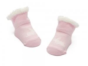 Bonnie Doon New Born/Baby Socken RABBIT rosa