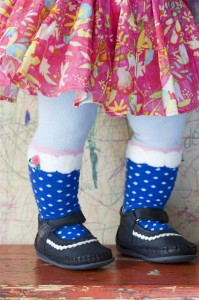 Bonnie Doon Baby Strumpfhose CUPCAKE royal