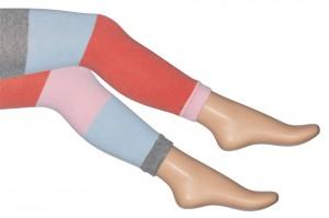 Bonnie Doon Legging COLOUR BLOCK STRIPES light grey heather