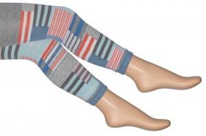 Bonnie Doon Legging PATCHWORK light grey heather