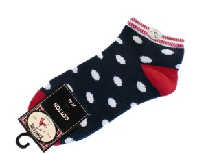 Bonnie Doon Juicy Dots Kurz-Socken navy