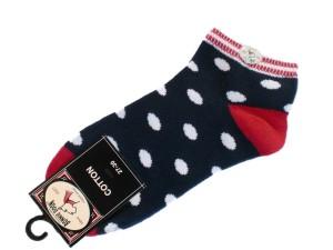 Bonnie Doon Juicy Dots Kurz-Socken navy