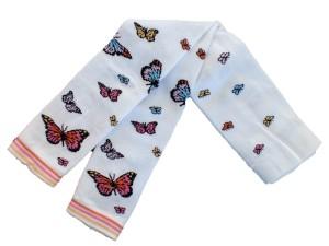 Bonnie Doon Butterflies Legging weiß