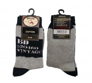 Bonnie Doon Socken Vintage hellgrau