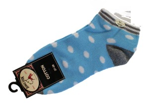 Bonnie Doon Juicy Dots Kurz-Socken aquatic