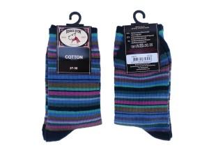 Bonnie Doon Joyful Streifen Socken navy