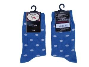 Bonnie Doon Socken Dots royal-weiß