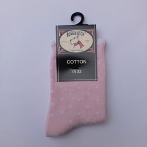 Bonnie Doon Socken Dots rosa-weiss