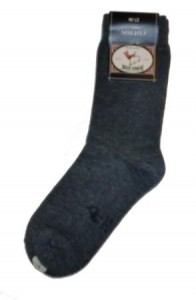 Bonnie Doon Basic-Socken dunkelgrau