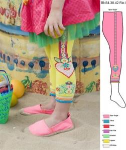 Bonnie Doon Legging RIO spun sugar