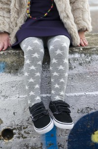 Bonnie Doon Baby Strumpfhose A STAR IS BORN hellgrau