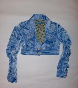 Carbone Jacke blau
