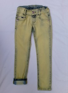 Carbone coloured Skinny Jeans gelb