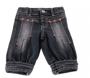 Carbone 7/8-Balloon-Hose blue denim