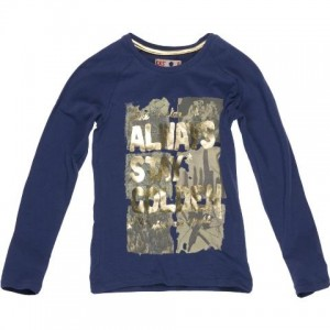 CKS Langarm-Shirt/Longsleeve GOLDIE bluejay