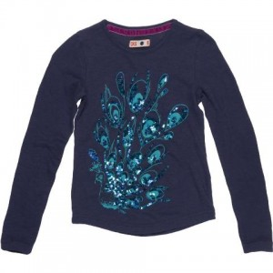 CKS Langarm-Shirt/Longsleeve PEACOCK night blue