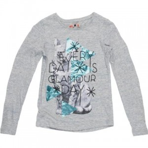 CKS Langarm-Shirt/Longsleeve SHADOW grey mele