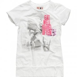 CKS T-Shirt NEWY russian white