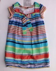 CKS Streifen-Kleid Gunion