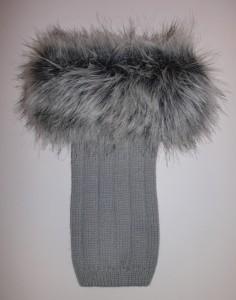 Bonnie Doon Damen Stulpen/Beinwärmer Cuff boot hellgrau