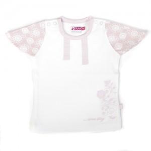 Ducky Beau T-Shirt rosa-weiss