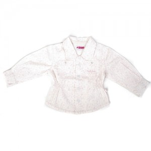Ducky Beau Bluse weiss-rosa