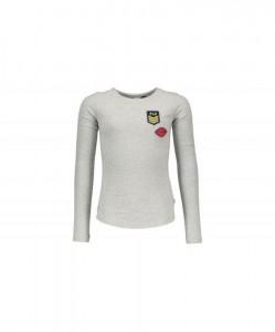 LIKE FLO Langarm-Shirt/Longsleeve grey mele