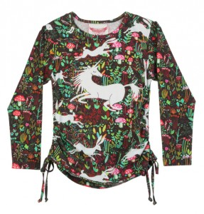 Paper Wings Langarm-Shirt/Longsleeve UNICORN FIELD multicolor