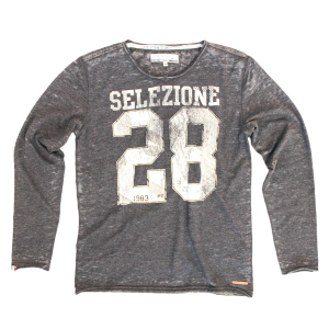 Vingino/LA SELEZIONE DE GINO Langarm-Shirt/Longsleeve HARMOND dark grey