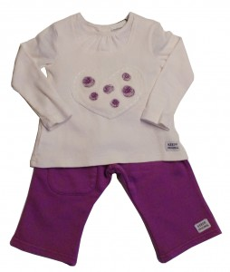 Keedo Shirt mit Legging 2tlg. aster-rose