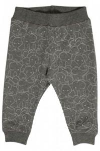Hust & Claire Jerseyhose Elefanten wool grey