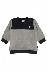 Hust & Claire gestepptes Sweatshirt navy