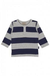 Hust & Claire Langarm-Shirt/Longsleeve Streifen deep blue