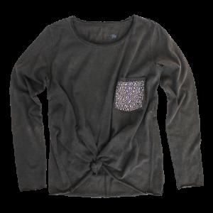 Vingino/LA SELEZIONE DE GINO Langarm-Shirt/Longsleeve JACKLYN schwarz