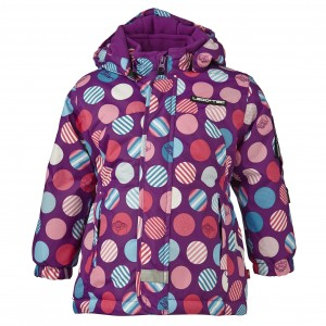 Lego Wear/Lego Tec Winter-Jacke JADE Kreise purple